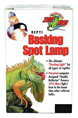 Zoo Med Reptile Basking Spot Lamp 150 Watts (Bearded Dragon Heat Lamp Bulb compare prices)
