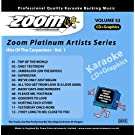 Zoom Karaoke CD+G - Platinum Artists 52: The Carpenters