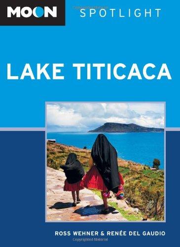 Moon Spotlight Lake Titicaca