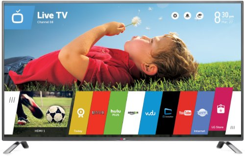 LG Electronics 60LB6300 60-Inch 1080p 120Hz Smart LED TV (2014 Model) (Lg Flat Screens compare prices)