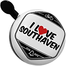 Bicycle Bell I Love Southaven by NEONBLOND