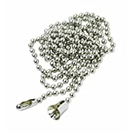 Leviton8756Do it Pull Chain-3' BRASS PULL CHAIN