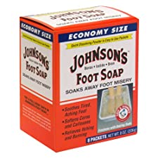 Johnson's Foot Soap, Economy Size, 8 ct.