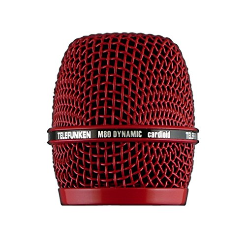Telefunken Elektroakustik Hd03-Red | M80 Replacement Microphone Grill Red
