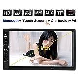KKmoon-Universal-7-Zoll-2-Din-Auto-Stereoanlage-UKW-Radio-MP5-Player-Mit-HD-Touch-Screen-Untersttzt-Bluetooth-USBTF-AUX-Eingang