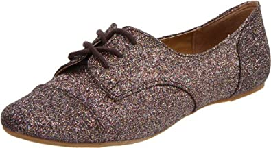 Not Rated Women's Little Star Oxford,Multi Brights,6 M US