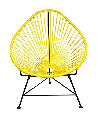 Innit Designs Acapulco Chair, Yellow/Black