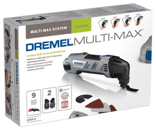 dremel 8300 outil oscillant multifonctions multi max sans fil outils rotatifs multifonction. Black Bedroom Furniture Sets. Home Design Ideas
