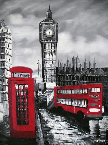 old-london-red-bus-telephone-box-and-big-ben-fine-art-oil-on-canvas-painting-superb-quality-and-craf