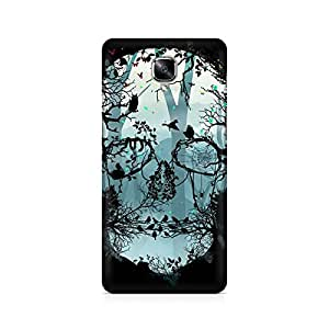 Mobicture Skull Abstract Premium Printed Case For OnePlus Three