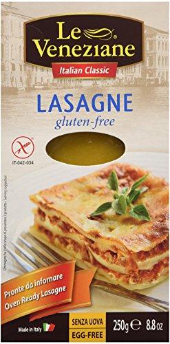 Le Veneziane Gluten Free Lasagne Sheets 250 G 2 Pack (Lasagne Pasta compare prices)