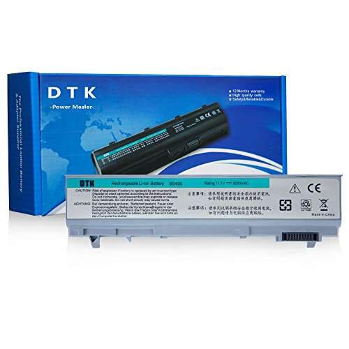 Dtk New Laptop Notebook Battery Replacement for Dell Computer Latitude E6400 E6410 E6500 E6510 Precision M2400 M4400 M4500 6-cell (Latitude E6410 Battery compare prices)