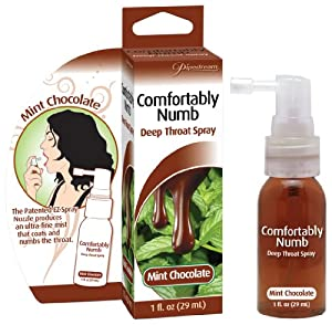 Comfortably Numb Deep Throat Spray -Mint/Choc