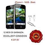 Apple iPhone 4 S 16GB black sim-free,
