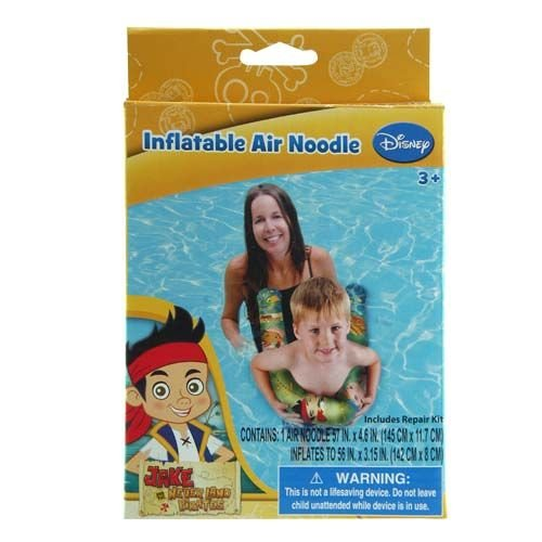 Jake and the Neverland Pirates Swimming Inflatable Pool Air Noodle for Kids - 1