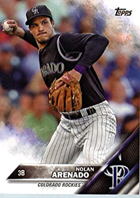 2016 Topps #12 Nolan Arenado Colorado Rockies Baseball Card