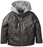 Urban Republic Little Boys' Garment Dyed Faux Leather Jacket by Leather Factory Outlet