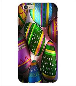 PrintDhaba Coloured Eggs D-3866 Back Case Cover for APPLE IPHONE 6S PLUS (Multi-Coloured)