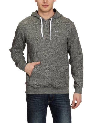 Vans Core Basics Pullover Hoodie Men's Jumpers Black Heather Medium