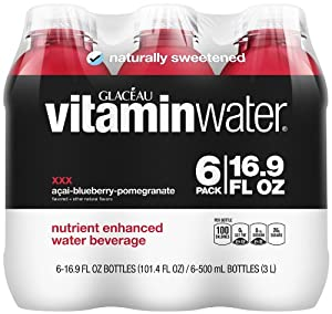 vitaminwater XXX (6 Count, 16.9 Fl Oz Each)