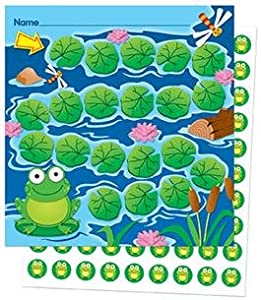Frog Mini Incentive Charts w/Stickers