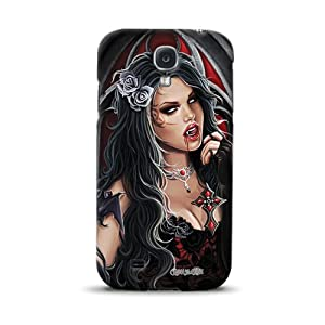 Diabloskinz D0098-0080-0006 komplett bedruckte Schutzhülle für das Samsung Galaxy S4 - Vampire Blood
