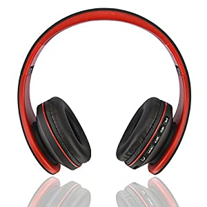 ecandy bluetooth headphones wireless stereo headsets wired heaphones support tf card. Black Bedroom Furniture Sets. Home Design Ideas