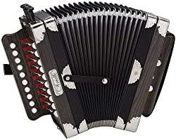 Hohner 3002B Cajun Ariette Accordion in Black