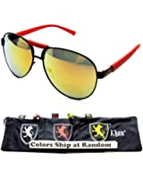 A42-kp Khan Aviator Turbo Fashion/sports Sunglasses