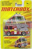 2010 Matchbox Lesney Edition DENNIS SABRE fire truck die cast 1:64 scale