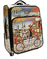 Nicole Lee Cleo21 Inch Expandable Rolling Carry-On