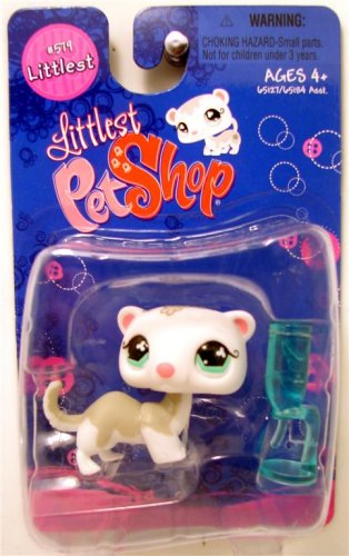 Buy Low Price Hasbro Littlest Pet Shop Littlest Figure Ferret with Water Bottle (B0015XRZJ0)