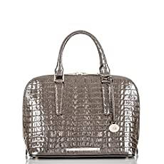 Vivian Dome Satchel<br>Graphite La Scala