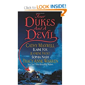 Four Dukes and a Devil Cathy Maxwell, Tracy Anne Warren, Jeaniene Frost and Sophia Nash