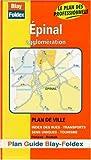 echange, troc Plans Blay Foldex - Plan de ville : Épinal (avec un index)