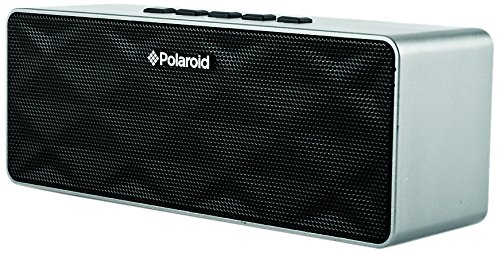 Polaroid Pbt555Sl 2014 Portable Bluetooth Speaker For Android, Kindle, Galaxy, Iphone And Ipad (Silver)