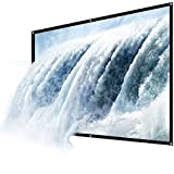 "CAIWEI 60"" Projector Screen, 60 Inch Diagonal 16: 9 Projection HD Foldable Screen Home Theater Widescreen Projector..."