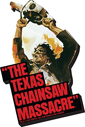 Aquarius Texas Chainsaw Massacre Art Funky Chunky Magnet
