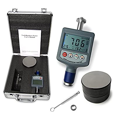 Digital Rebound Leeb Metal Hardness Tester Gauge 200~900 Steel Cast Iron