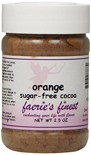Faeries Finest Sugar-Free Cocoa, Orange, 2.50 Ounce