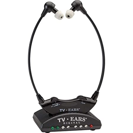 TV Ears 5.0 numériqueCasque TV infrarouge, noir