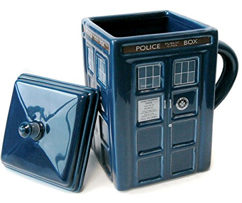 Dr Who Tardis Mug and