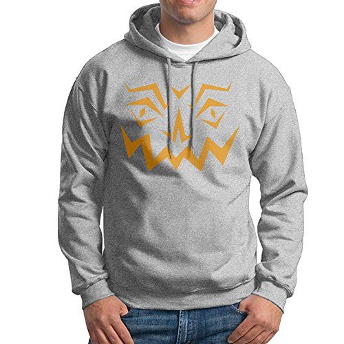 MARC Men's Black Pumpkin Face Hooded Sweatshirt Ash Size XL (Pixel Of Ink Free Kindle Books compare prices)