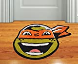 AVIRA HOME 1300 GSM NINJA TURTLE MAT-KIDS ROOM MAT-BATHMAT-DOOR MAT-100% COTTON-MULTICOLOR