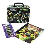 Nickelodeon (TMNT) Teenage Mutant Ninja Turtles Back To School Lunch Box Combo (Lunch Box, composition Notebook & Pencils)