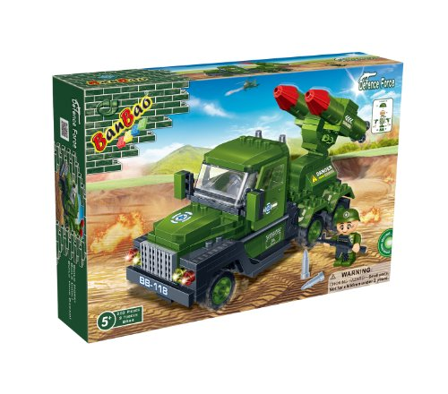 Banbao Rocket Launcher Truck Building Set - 1