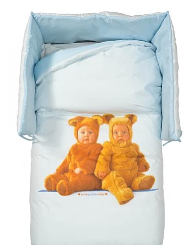 Anne Geddes Set Trapunta + Paracolpi New Teddy Bears lettino 110 x 150 cm
