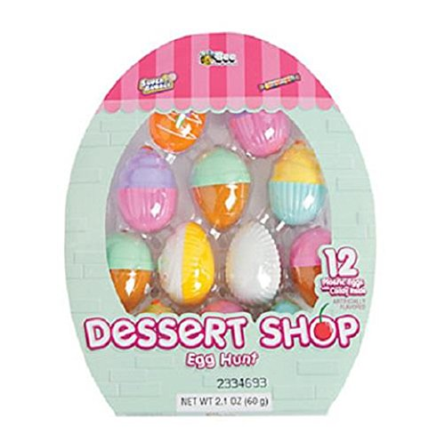 Oriental Trading 13656650 Candy-filled Dessert Shop Easter Eggs - 1