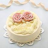 昭和レトロ 懐かし風味 バタークリームケーキ 5号 バースデーケーキ 誕生日ケーキ