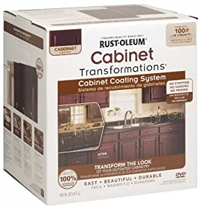 Rustoleum Countertop Paint On Wood : Rust-Oleum 263233 Cabinet Transformations, Small Kit, Cabernet - House ...